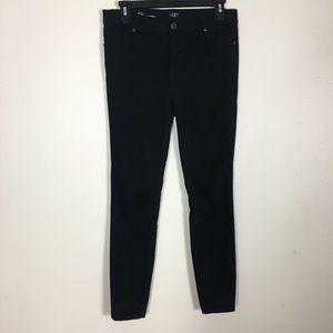 Loft Black High Waisted Legging Jeans